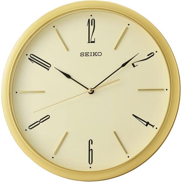 Seiko Qxa725g Wall Clock Yellow Matsuda