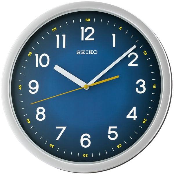 Seiko Qxa727s Wall Clock Blue Amp Grey Matsuda