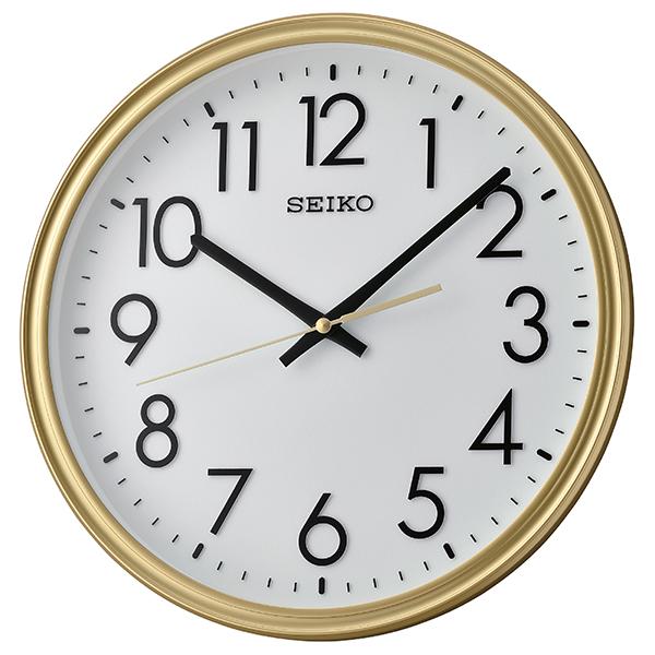 Seiko Qxa736g Classic Wall Clock Gold Amp White Matsuda