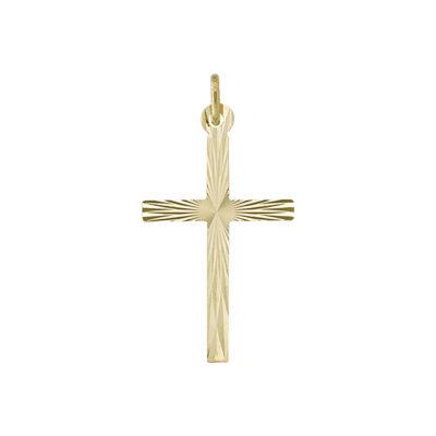 14K Gold Cross Pendant- 1.2 gm