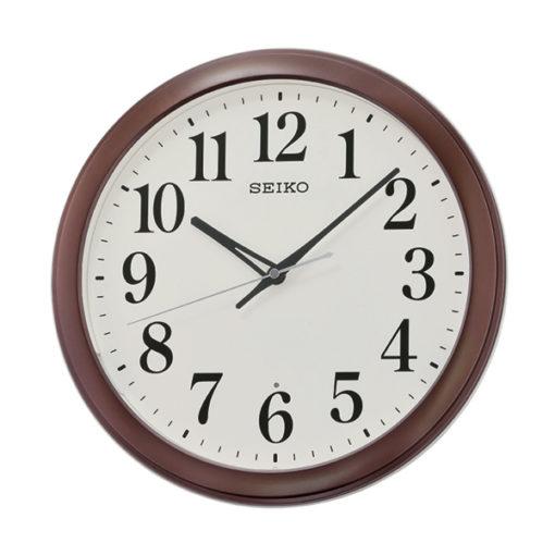 Seiko QXA776B Wall Clock - Brown
