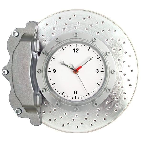 Matsuda Brake Disc Wall Clock Silver Matsuda